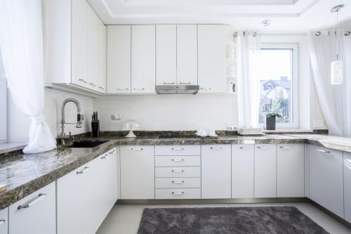 White and modern kitchen